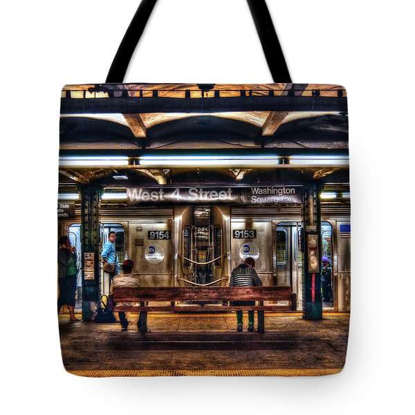 West 4th Street Subway Tote Bag