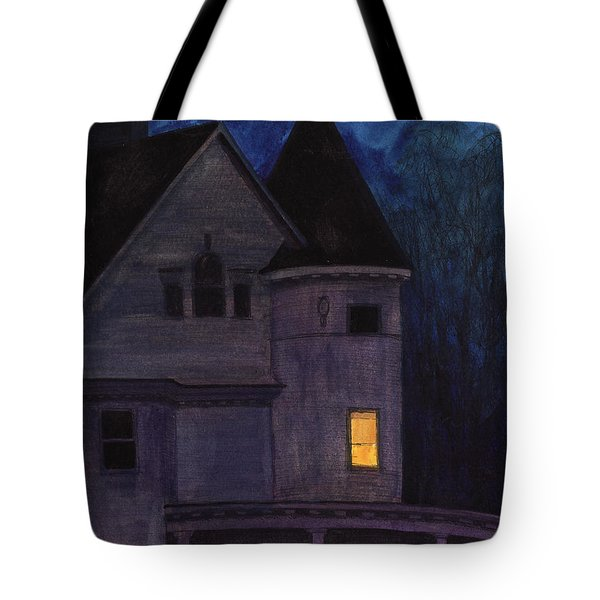 West Center Victorian Tote Bag by Arthur Barnes