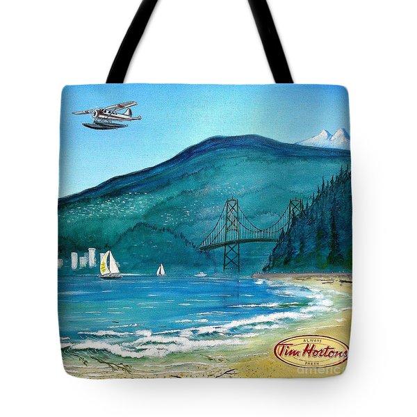 West Coast Dream Tote Bag by John Lyes