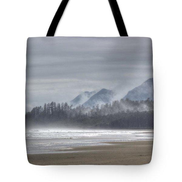 West Coast Mist Tote Bag