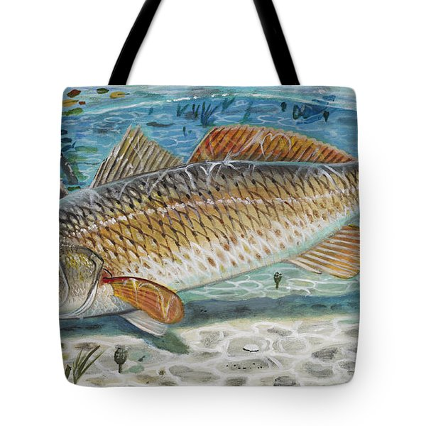 West Coast Red Tote Bag by Carey Chen