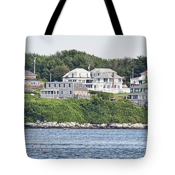 West End Long Island Maine Tote Bag by Richard Bean