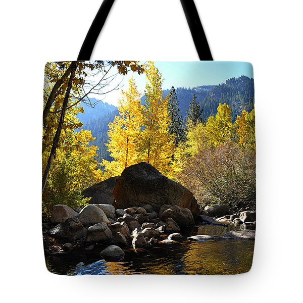 West Fork Of The Carson River Tote Bag