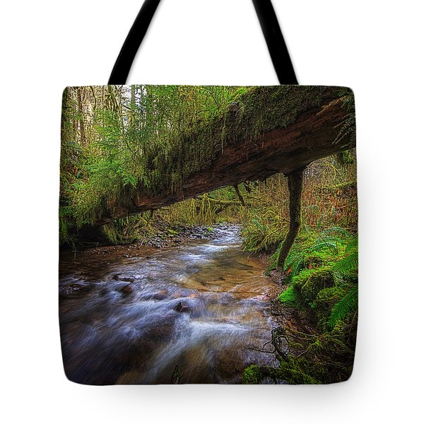West Humbug Creek Tote Bag by Everet Regal