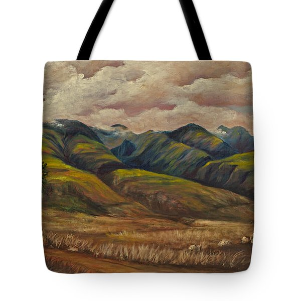 Tote Bag featuring the painting West Maui Splender  by Darice Machel McGuire