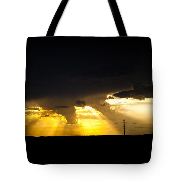 Tote Bag featuring the photograph West Of Town by Ben Shields