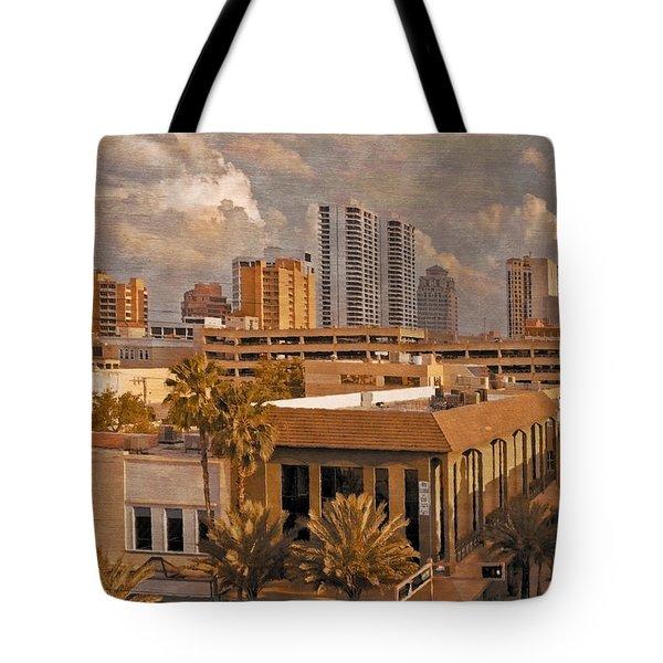 West Palm Beach Florida Tote Bag by Debra and Dave Vanderlaan