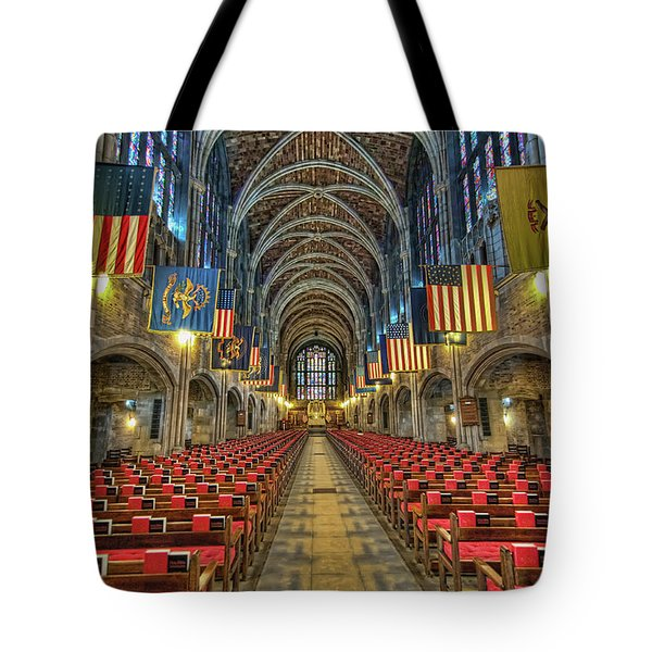 West Point Cadet Chapel Tote Bag by Dan McManus