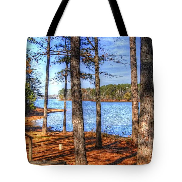 West Point Lake Tote Bag