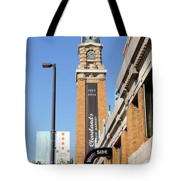West Side Market Tote Bag