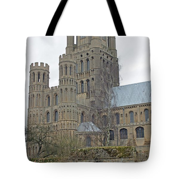 West Tower Of Ely Cathedral  Tote Bag