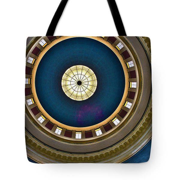 West Virginia State Capital Dome Hdr Tote Bag