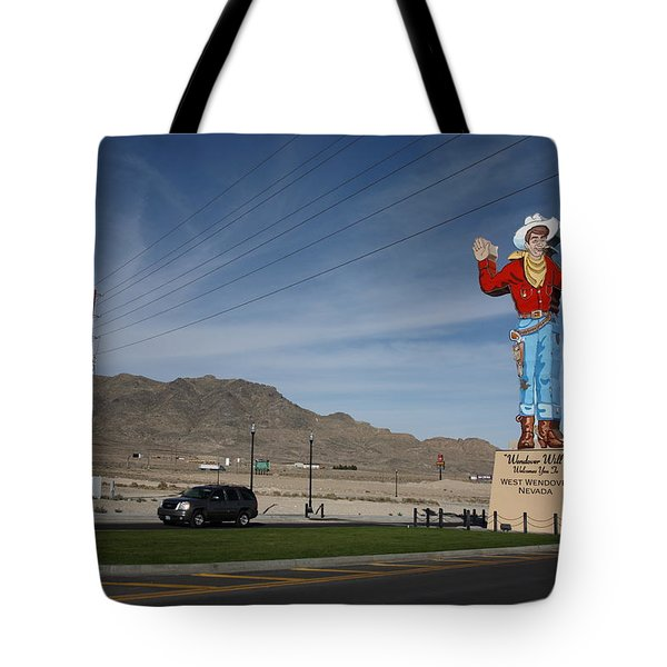 West Wendover Nevada Tote Bag