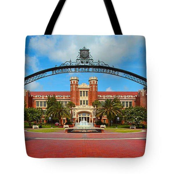 Westcott Gateway Arch - Fsu Tote Bag