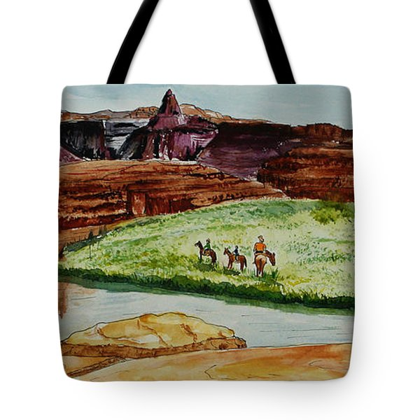 Western Canyons Tote Bag