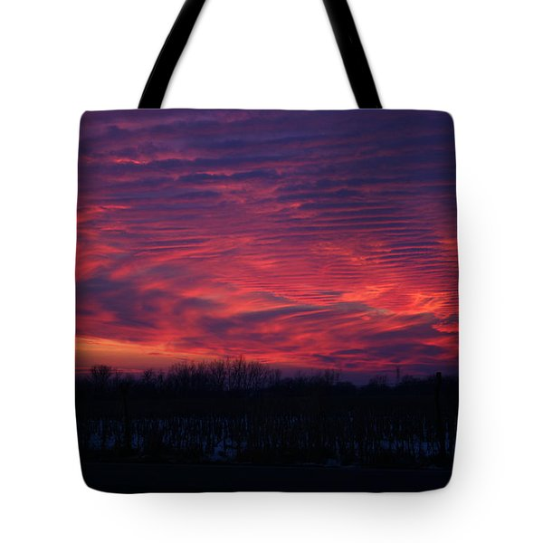 Western Evening Tote Bag