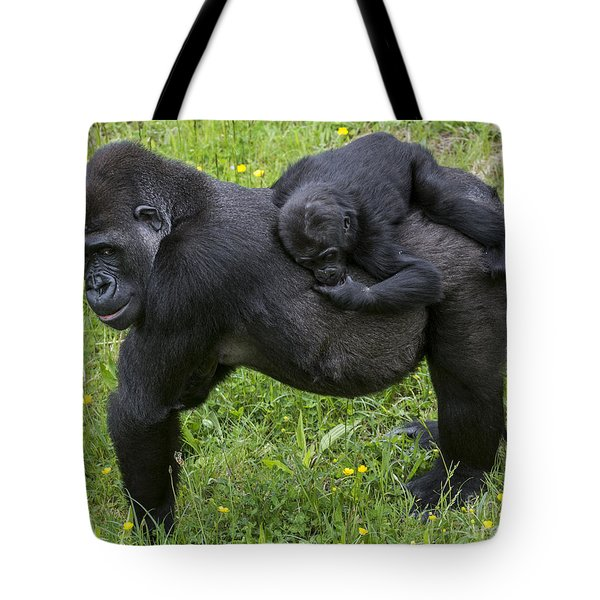 Western Lowland Gorilla 2 Tote Bag