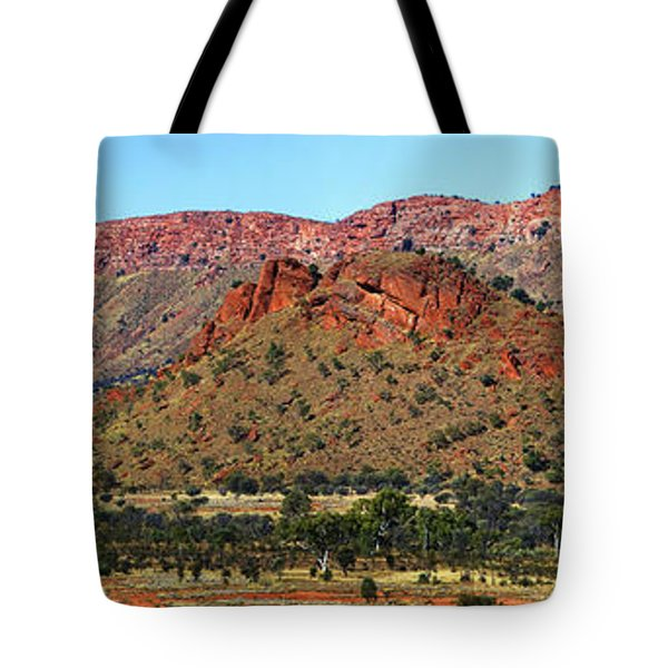 Western Macdonnell Ranges Tote Bag