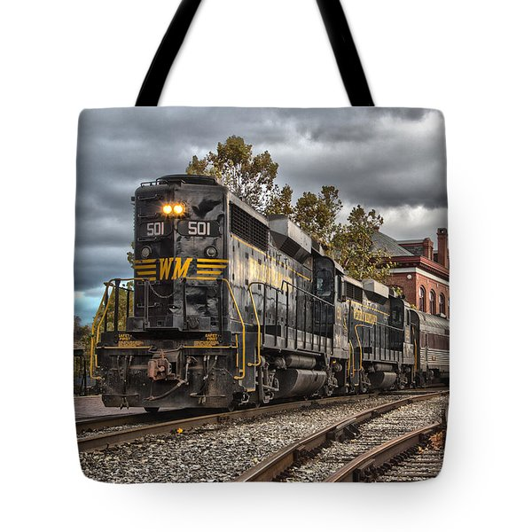 Western Maryland Scenic Railroad Tote Bag