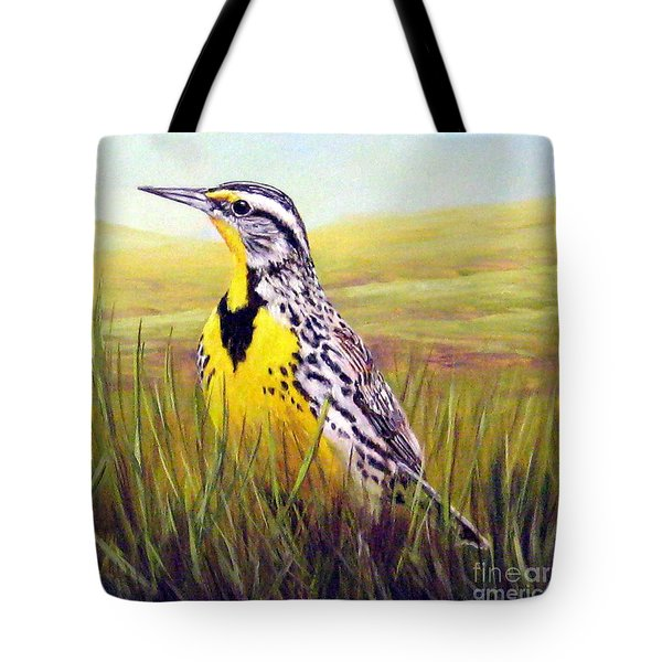 Western Meadowlark Tote Bag