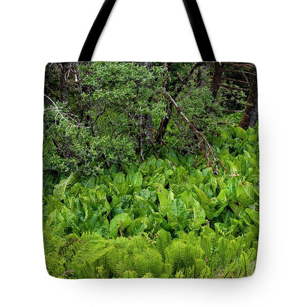Western Skunk Cabbages Lysichiton Tote Bag