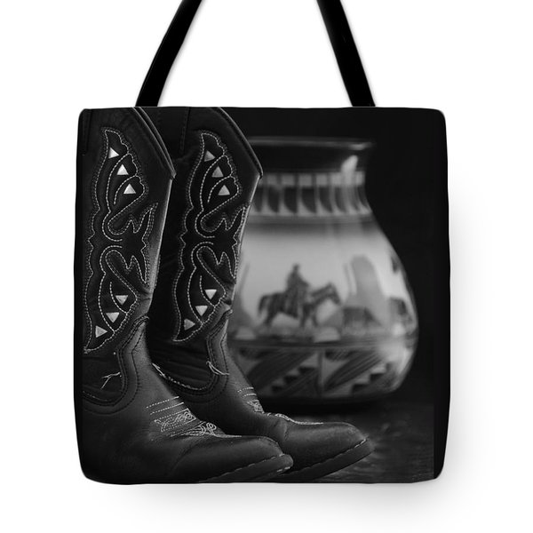 Tote Bag featuring the photograph Western Still Life 2 by Kenny Francis