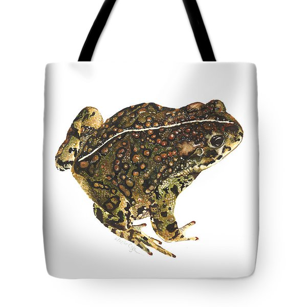 Western Toad Tote Bag by Cindy Hitchcock