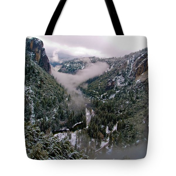 Western Yosemite Valley Tote Bag