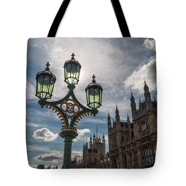 Tote Bag featuring the photograph Westminster by Matt Malloy