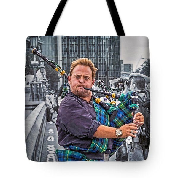 Westminster Piper Tote Bag by Keith Armstrong