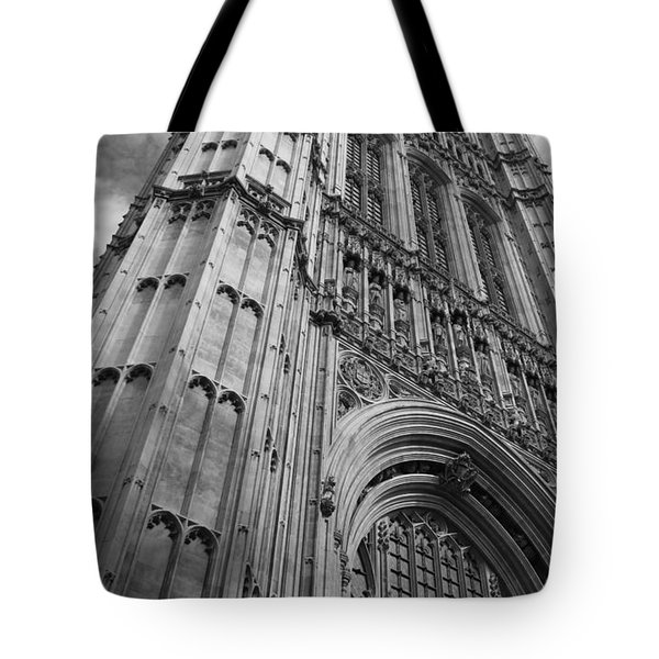 Westminter Abbey Tote Bag