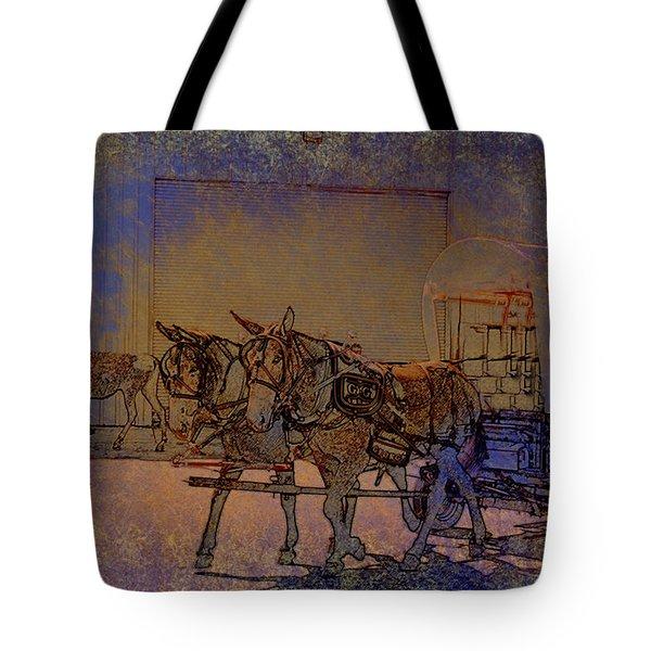 Westmoreland Mule Day Tote Bag by EricaMaxine  Price