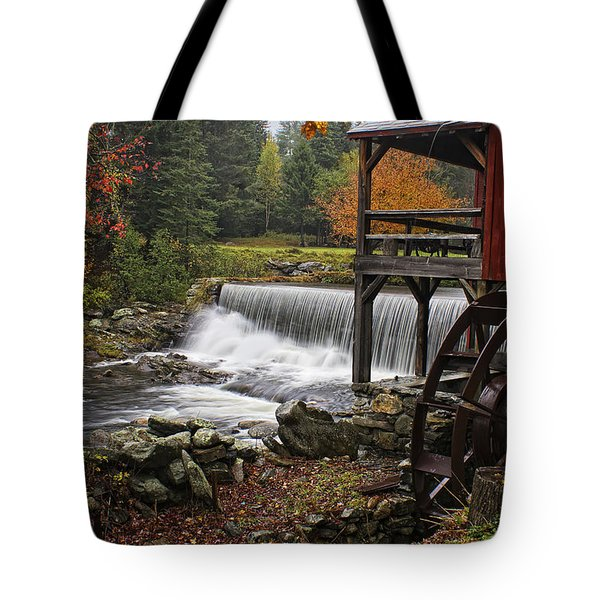 Weston Grist Mill Tote Bag