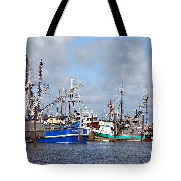 Westport Fishing Boats 2 Tote Bag
