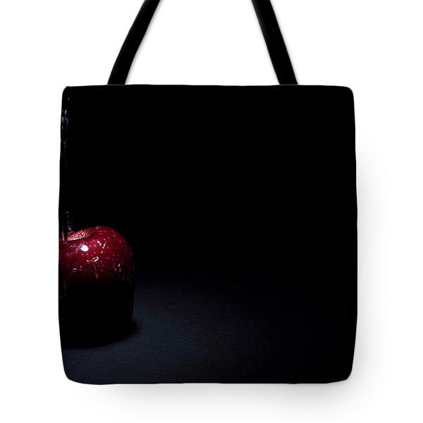 Wet Apple Tote Bag