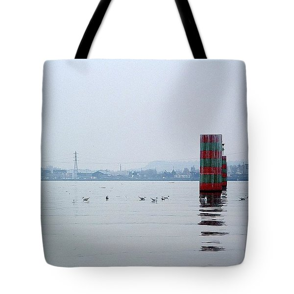 Wet Cylinder Tote Bag