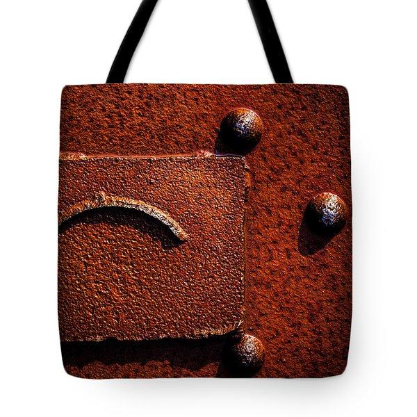 Wet Rust Tote Bag by Bob Orsillo