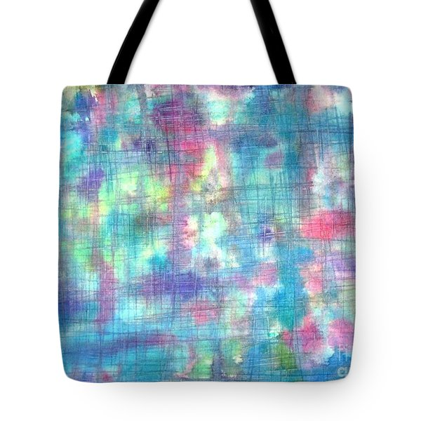 Wet Windows Tote Bag