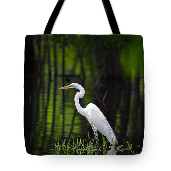 Wetland Wader Tote Bag by Al Powell Photography USA