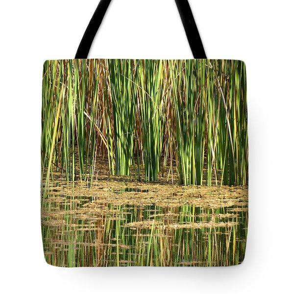 Wetlands Tote Bag by Laurel Powell