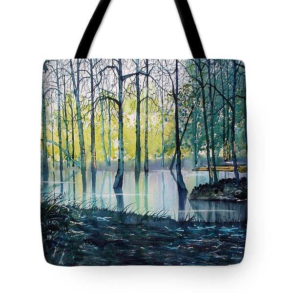 Wetlands On Skipwith Common Tote Bag