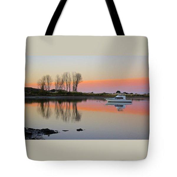 Whakatane At Sunset Tote Bag by Venetia Featherstone-Witty