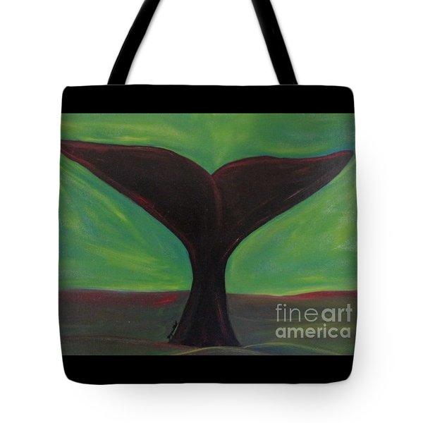 Whale Tale Tote Bag