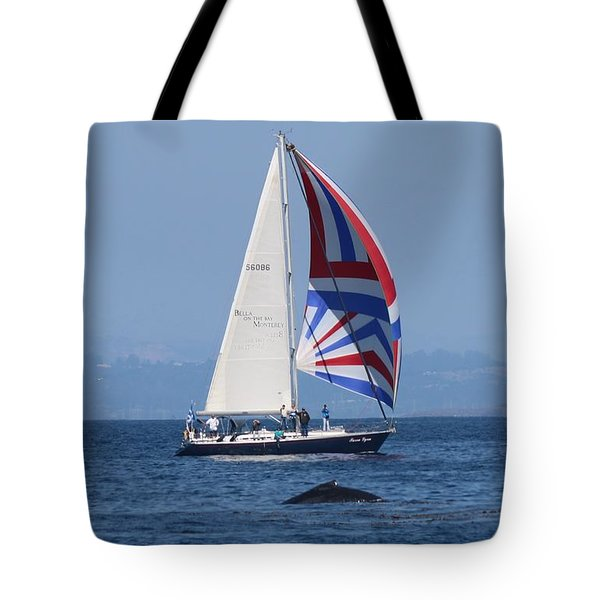 Whale Watching 2  Tote Bag