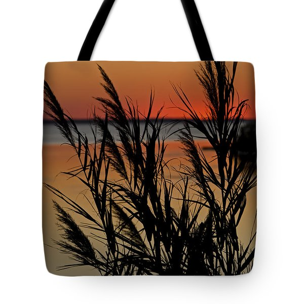 Whalehead Sunset Obx II Tote Bag