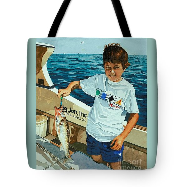 What A Catch Tote Bag