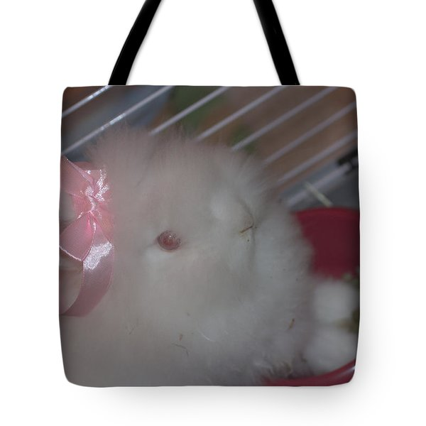 What A Cutie Tote Bag by The Art Of Marilyn Ridoutt-Greene