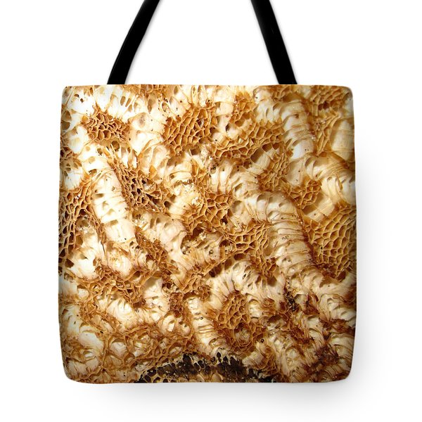 Tote Bag featuring the photograph What A Fungus by Mary Bedy