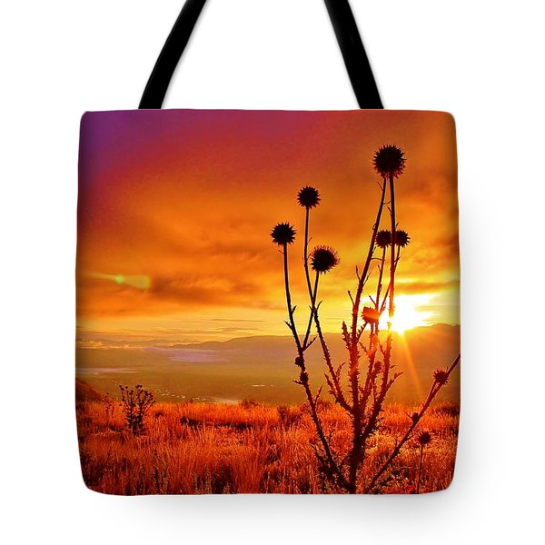 What A Morning Tote Bag by Catie Canetti