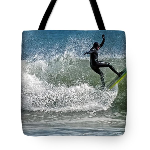 What A Ride Tote Bag by Sami Martin